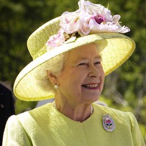 La reine Élisabeth II