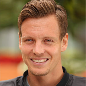 The 32-year old son of father Martin Berdych and mother Hana Berdychová, 196 cm tall Tomas Berdych in 2018 photo