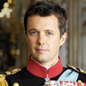 El príncipe heredero Frederik de Dinamarca