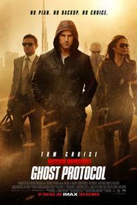 Affiche Mission impossible : Protocole Fantôme