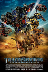 Cartaz: Transformers: A Vingança dos Derrotados