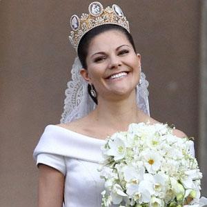 La principessa Vittoria di Svezia