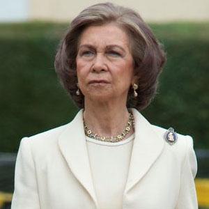 La reine Sofía d'Espagne