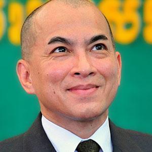 O rei do Camboja Norodom S