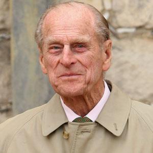 O príncipe Filipe, duque de Edimburgo