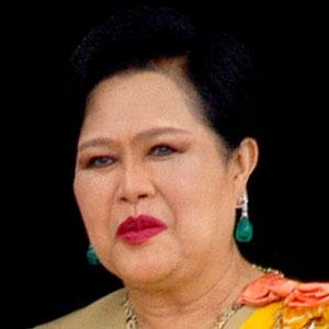 A rainha Sirikit da Tailândia