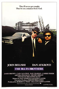 The Blues Brothers Poster