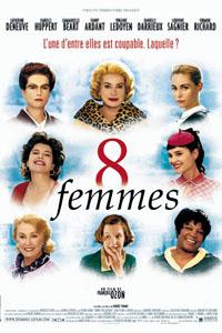 Affiche Huit femmes