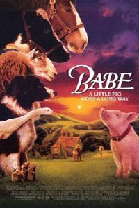 Cartaz: Babe, o Porquinho Atrapalhado