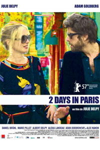 Two Days in Paris Poster