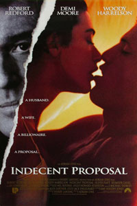 Cartaz: Proposta Indecente