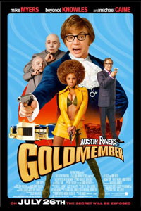 Cartaz: Austin Powers no Homem do Membro de Ouro