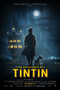 Cartaz: As Aventuras de Tintim