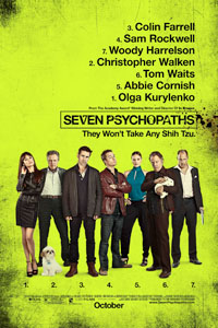 Affiche Sept psychopathes