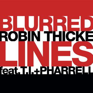 Pochette Blurred Lines