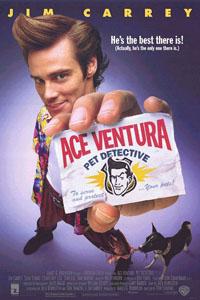 Cartaz: Ace Ventura - Um detetive diferente