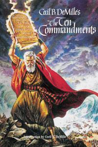 The Ten Commandments Poster