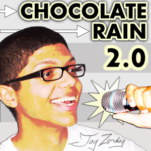 Pochette Chocolate Rain