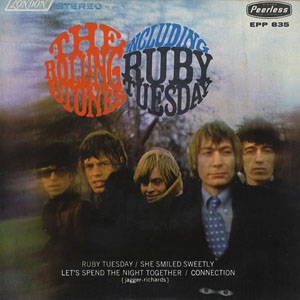 Pochette Ruby Tuesday