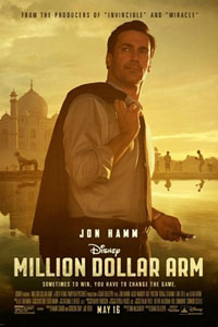 Affiche Un lancer à un million de dollars