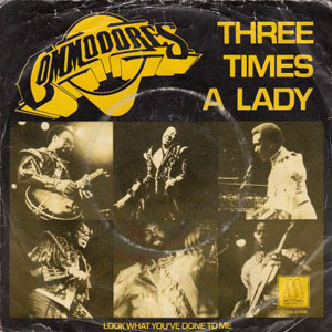Capa: Three Times a Lady