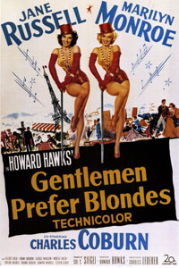Affiche Les hommes préfèrent les blondes