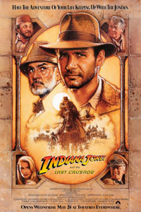 Cartaz: Indiana Jones e a Última Cruzada