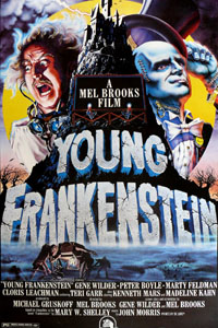 Cartaz: Frankenstein Junior