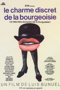 The Discreet Charm of the Bourgeoisie Poster