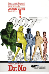 Affiche James Bond contre Dr No