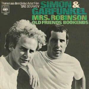 Capa: Mrs. Robinson